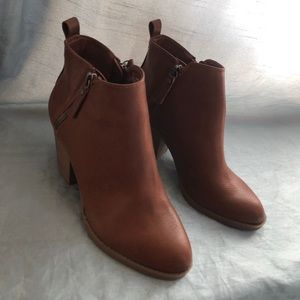 Cute chestnut booties
